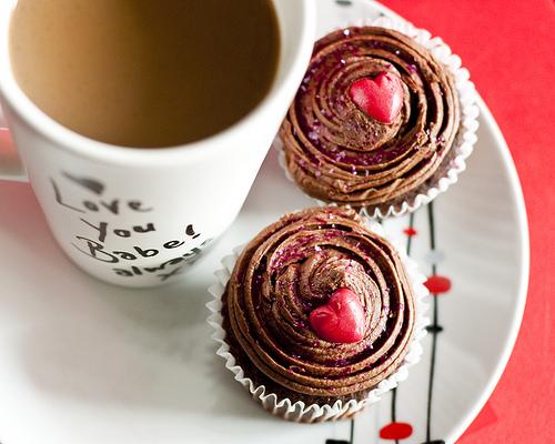 Valentine cake Karen Newman